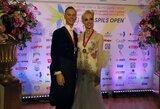 Šokėjai E.Sodeika ir I.Žukauskaitė – Europos čempionai