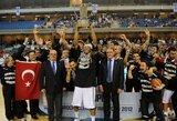 """""""Bešiktaš"""" krepšininkai po 37 metų iškovojo Turkijos čempionų titulą"""
