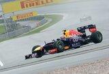 Malaizijoje po atkaklios kovos pergalę šventė S.Vettelis