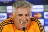 "C.Ancelotti: ""Išsiversime ir be S.Khediros"""