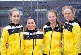 Federacijos taurė: jaunos Lietuvos tenisininkės patikėjo, kad gali laimėti ir prieš daug labiau patyrusias varžoves