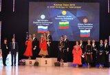 Šokėjai vėl laimi: V.Lacičio ir V.Golodnevos pergalė paskutinėse varžybose prieš pasaulio čempionatą