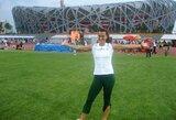 Buvusi lengvaatletė turi tikslą – padėti sportininkams realizuoti save ten, kur svarbiausia