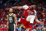 """Pelicans"" nepaliko vilčių ""Warriors"" komandai"
