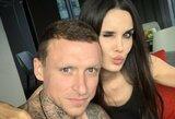 """Rusijos futbolininko žmona apie santykius: """"Kartais pasimušame, bet tai mums normalu"""""""