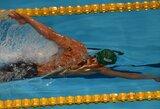 Plaukiko M.Sadausko viltys patekti į olimpines žaidynes dar labiau sumažėjo