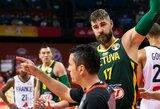 Lietuviai pateikė FIBA protestą dėl teisėjų klaidų