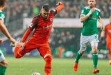 """""""Werder"""" ir """"Eintracht"""" komandos išsiskyrė taikiai"""