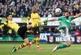 """Viltys kovoti dėl čempionės titulo blėsta: dviejų įvarčių pranašumą iššvaisčiusi """"Borussia"""" neįveikė """"Bundesliga"""" vidutiniokų"""