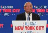 Mirė ilgametis NBA komisaras D.Sternas