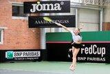 P.Bakaitė netikėta pergale pradėjo Europos jaunių teniso čempionatą