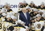 """""""Sausai"""" Rytų konferencijos finalą laimėję """"Bruins"""" po penkių metų pertraukos kovos dėl Stenlio taurės"""