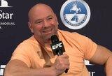 """UFC prezidento atsakas į J.Joneso kaltinimus: """"Galime sėsti prie melo detektoriaus"""""""