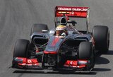 L.Hamiltonas buvo greičiausias ir antrosiose Brazilijos GP treniruotėse