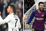 G.Chiellini sulygino C.Ronaldo ir L.Messi su R.Federeriu ir R.Nadaliu