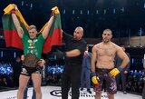 """Lietuvis beldžiasi į UFC: M.Bukauskas pirmajame raunde alkūnėmis nokautavo varžovą ir apgynė """"Cage Warriors"""" čempiono diržą!"""