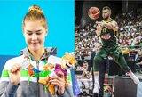"""Intrigos """"Populiariausio sportininko"""" rinkimuose: D.Sabonis ar K.Teterevkova, R.Meilutytė ar broliai Lavrinovičiai?"""