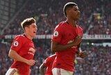 """M.Rashfordo baudinys leido """"Manchester United"""" pagaliau iškovoti tris taškus"""