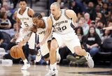 """Spurs"" aptemdė N.Jokičiaus karjeros rungtynes"