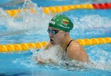 R.Meilutytė sėkmingai pradėjo kovą dėl dar dviejų medalių, D.Rapšys pagerino Lietuvos rekordą