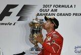 """Ferrari"" pergudravo ""Mercedes"", S.Vettelis tapo vienvaldžiu sezono lyderiu"