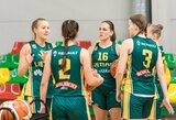 Pirmą kartą FIBA organizuotame turnyre lietuvės pateko tarp keturių stipriausių pasaulio rinktinių