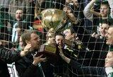 Futbolo sezoną lyderiai pradės rungtynėmis dėl trofėjaus Vilniuje