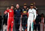 Problemų su varikliu turėjęs D.Ricciardo laimėjo prestižines Monako GP lenktynes