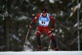 Pasaulio biatlono čempionate lietuviai buvo aplenkti visu ratu