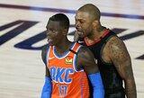 """NBA nubaudė """"Rockets"""" ir """"Thunder"""" krepšininkus"""