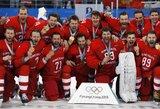 Paskutinę minutę pratęsimą išplėšę rusai užbaigė vokiečių olimpinę pasaką ir iškovojo auksą