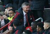 """O.G.Solskjaeras po pirmos iškovotos pergalės """"Old Trafford"""" stadione: """"D.De Gea atremtas smūgis buvo svarbiausias šių rungtynių momentas"""""""