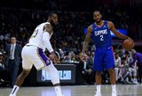 NBA superžvaigždės vienijasi dėl sezono pratęsimo