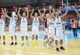 Latvijos rinktinė nugalėjo blankiai žaidusius Makedonijos krepšininkus ir užsitikrino vietą kitame etape