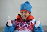 Sočio olimpiados medalių įskaitoje rusai vėl tolsta nuo persekiotojų: sugrąžintas dar vienas sidabras