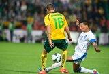 Lietuvos rinktinė FIFA reitinge – vis dar už šimtuko ribų