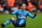 """Į naujokus besidairantys """"Arsenal"""" gali atsisveikinti su M.Ozilu"""
