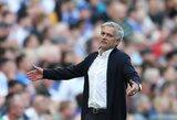 """J.Mourinho peikia Anglijos spaudą: """"Paskaičius naujienas sunku patikėti, kad buvome antri, o ne pašalinti iš lygos"""""""