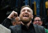 """C.McGregoras sutinka dalyvauti """"apšildomoje"""" UFC turnyro kovoje su viena sąlyga"""