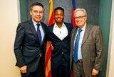 """A.Fati pasirašė su """"Barcelona"""" naują kontraktą, į jį įtraukta milžiniška išpirkos suma"""