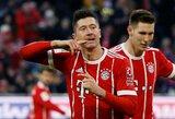 """Vokietijos taurė: """"Bayern"""" kelialapį į ketvirtfinalį išsikovojo tik po pratęsimo"""