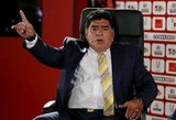 Dėl D.Trumpo įžeidimų JAV nesuteikė vizos D.Maradonai