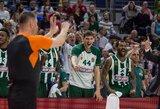 """""""Panathinaikos"""" finalą pradėjo triuškinama pergale"""