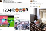 """Geriausi internautų pokštai po """"Liverpool"""" ir """"Aston Villos"""" rungtynių"""