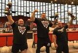 Dvigubas lietuvių triumfas pasaulio žaidynėse: Ž.Savickas – čempionas, V.Blekaitis – vicečempionas!