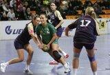 Lietuvos moterų rankinio lygoje – šeimininkių pergalės