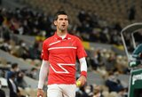 Aiškėja, kodėl N.Djokovičius ATP 1000 turnyrą Paryžiuje iškeitė į žemesnio rango turnyrą Austrijoje