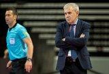 J.Ryvkinas atleistas – salės futbolo rinktinė turės naują trenerį