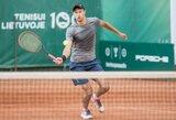 ITF profesionalų turnyruose – ankstyvi Lietuvos tenisininkų pasitraukimai