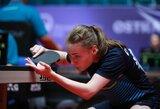 52-oji pasaulio raketė užbaigė K.Riliškytės pasirodymą pasaulio jaunimo stalo teniso čempionate